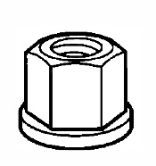 Cast Hex Nut