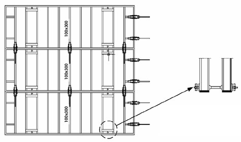 3 Meter Height Clamp Distribution