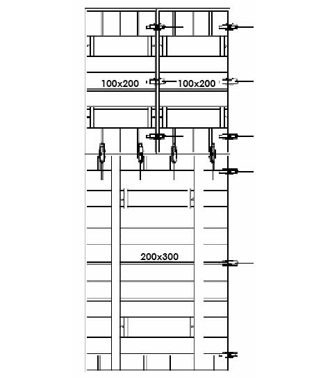 5 Meter Height Clamp Distribution