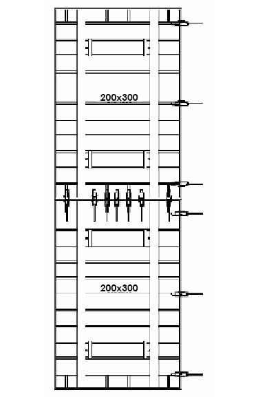 6 Meter Height Clamp Distribution